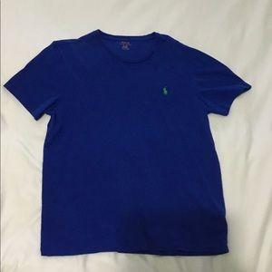 Polo by Ralph Lauren Shirts - Men's Blue Polo Tee